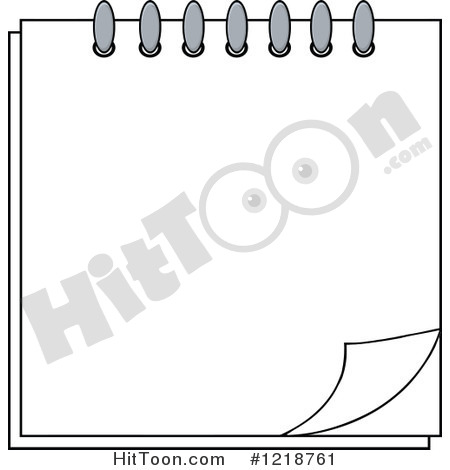 Blank Calendar Clipart Black And White.