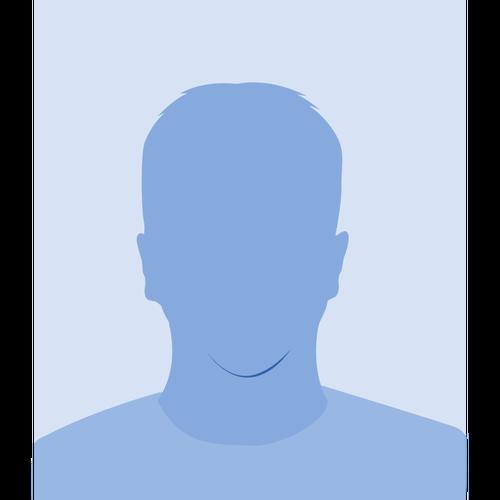 Blank male avatar vector image.