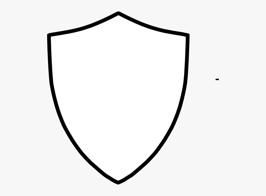 Blank Shield Clip Art.