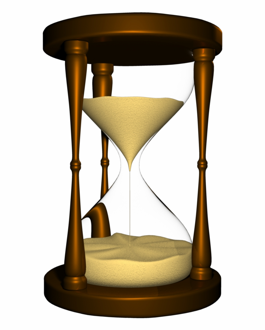 Png Hourglass With Blank Background.