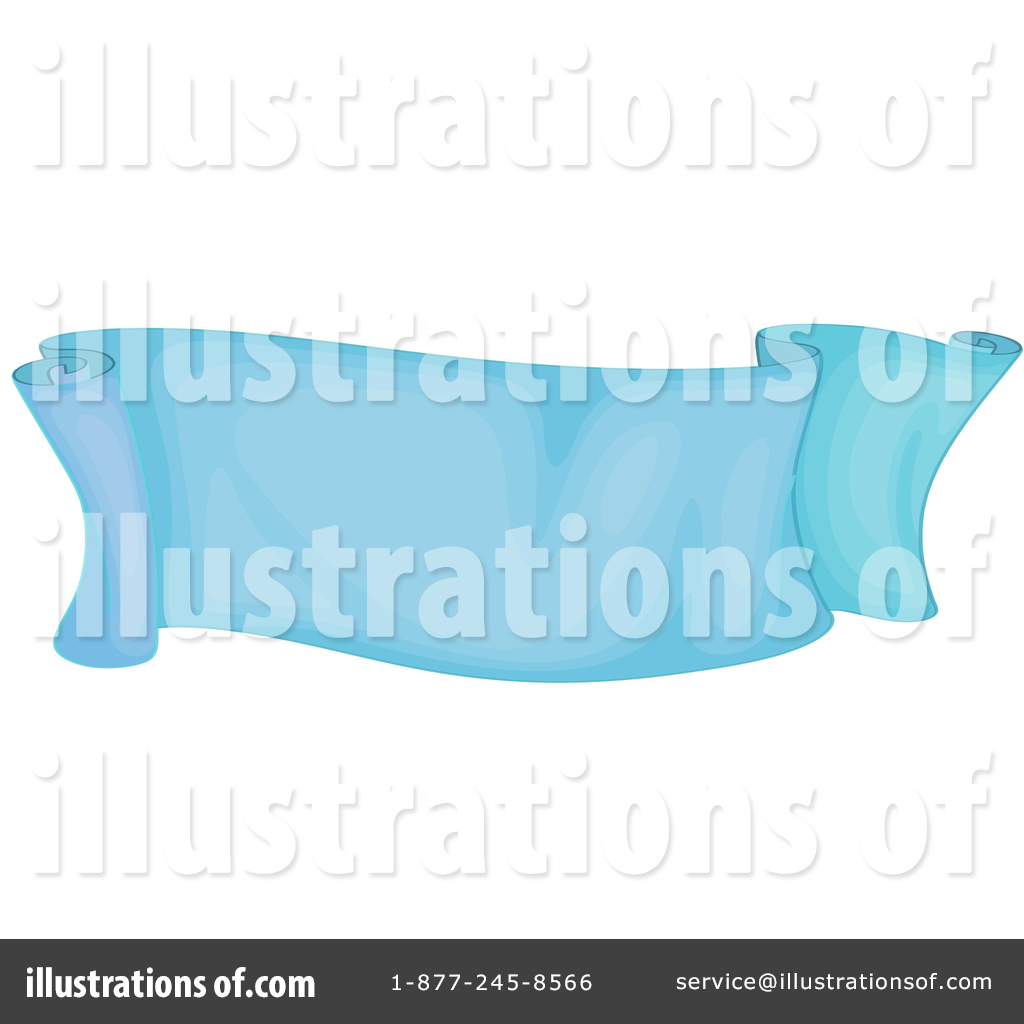 Blank Banner Clipart #1427255.