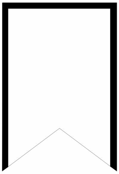 blank banner.