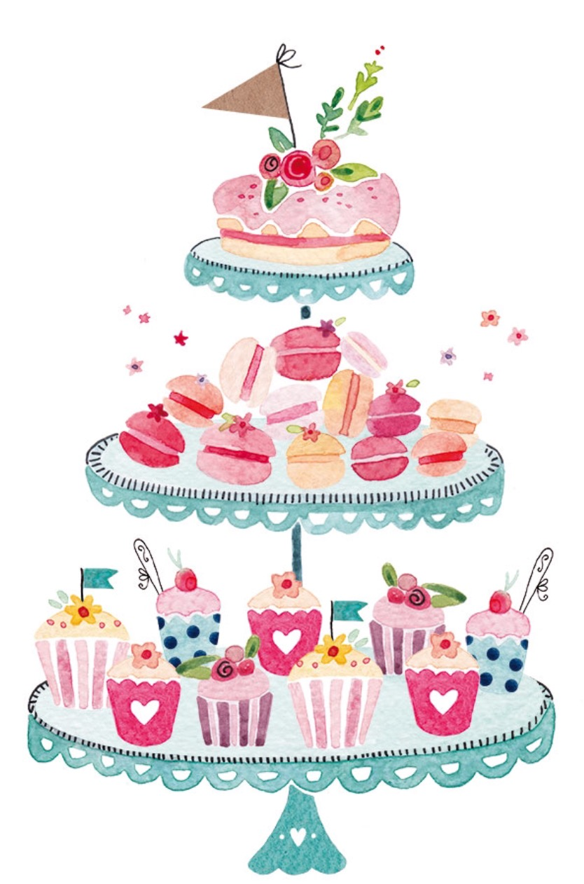 18023 Cake free clipart.