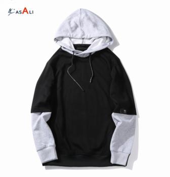 Hiphop Blank Hoodies Pakistan Winter Clothes Pullover Black/grey Side Open  Oversized Hood Hoodie Men Jacket Fear Of God.