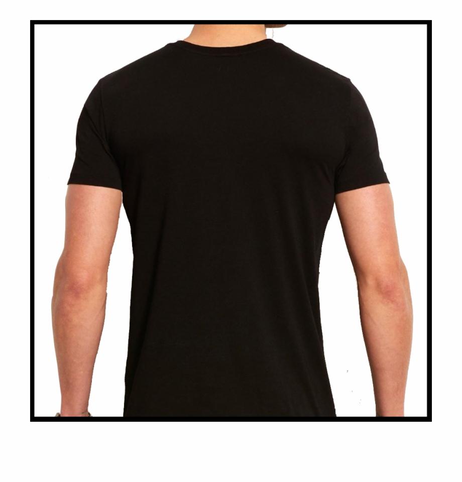 Blank Black Shirt Png.