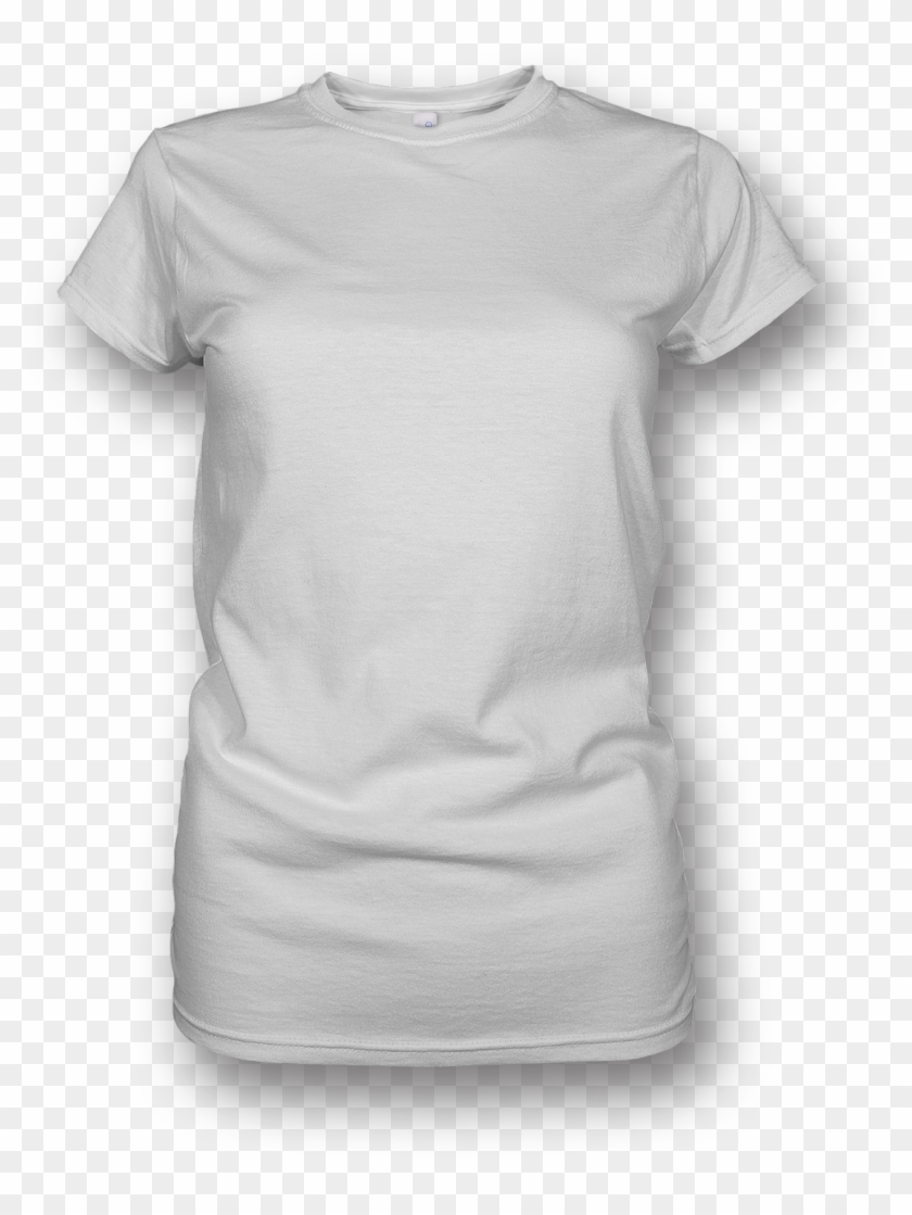 Blank White T Shirt Png.