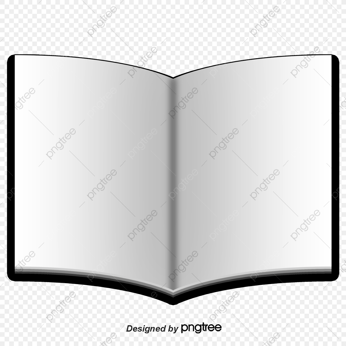 Folio Blank Book Design Vector Material, Book Vector, Book Clipart.