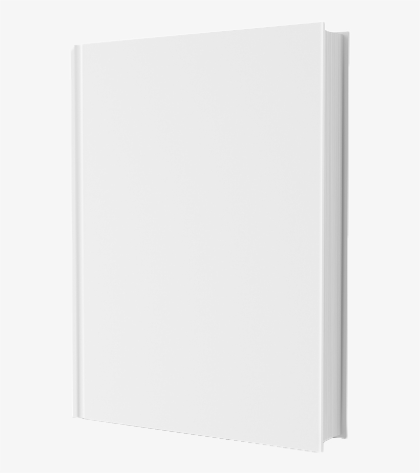 Blank Book Cover.