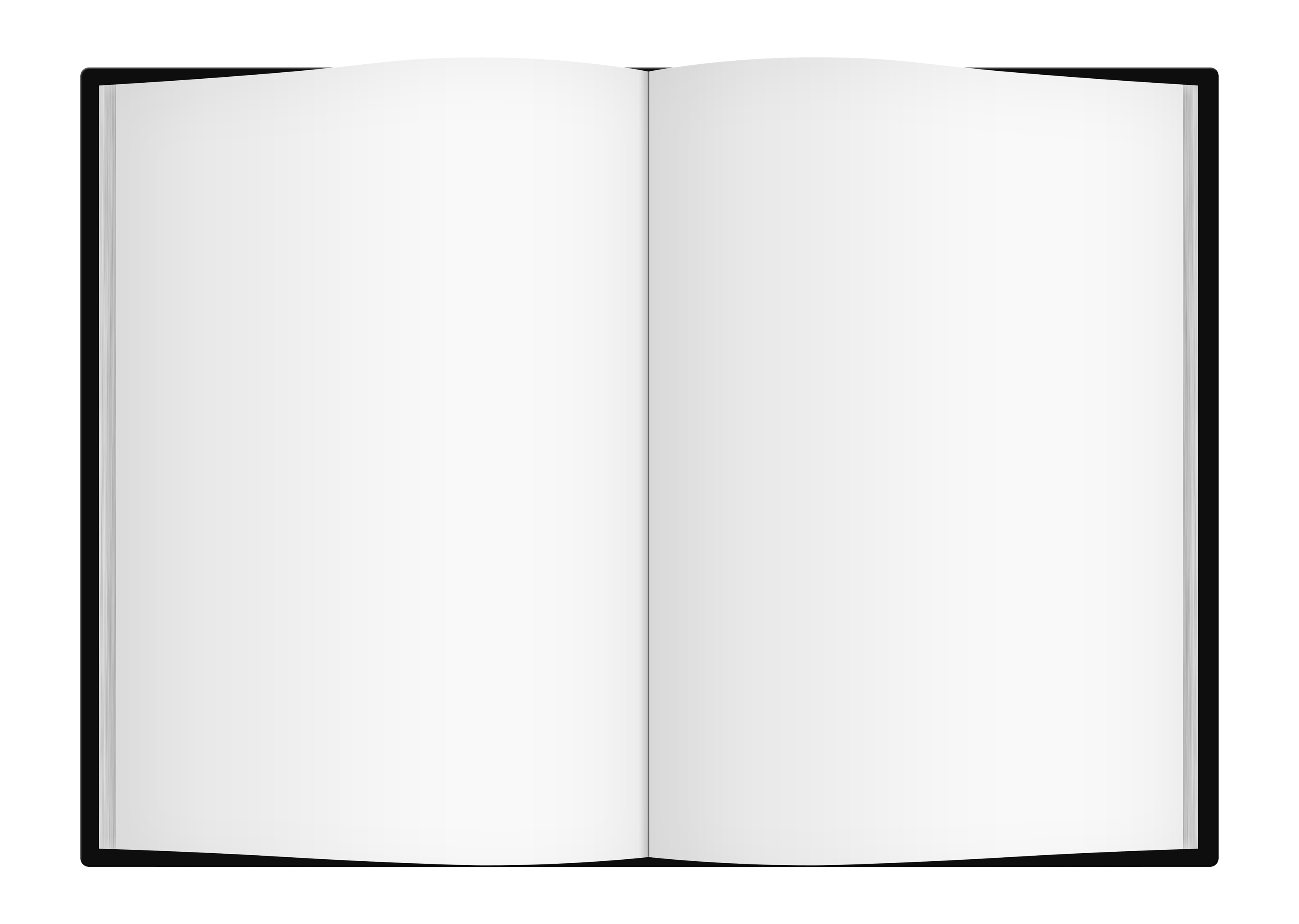 Blank Book PNG Image.