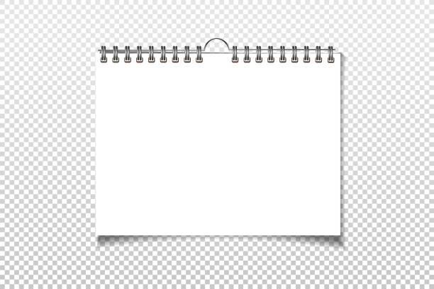 Best Blank Calendar Illustrations, Royalty.