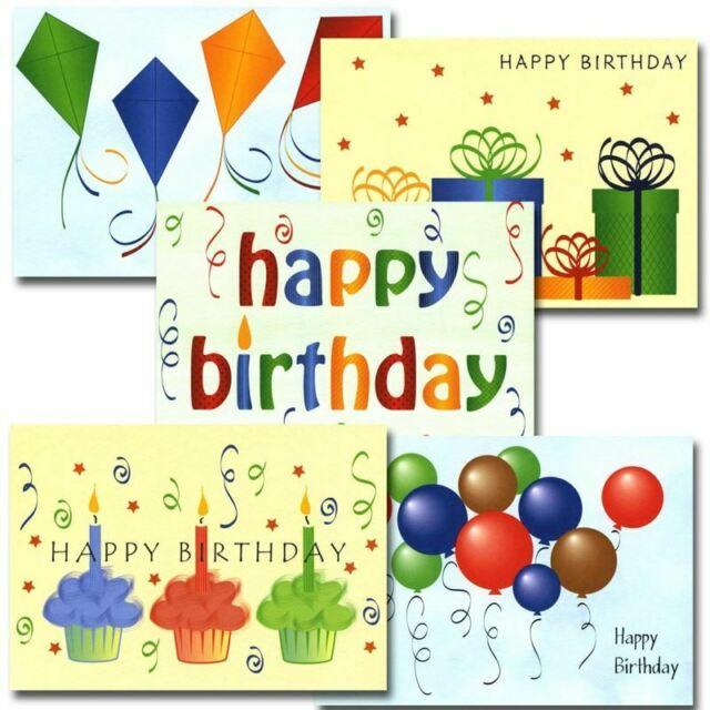 Birthday Cards: Happy Birthday Assortment.