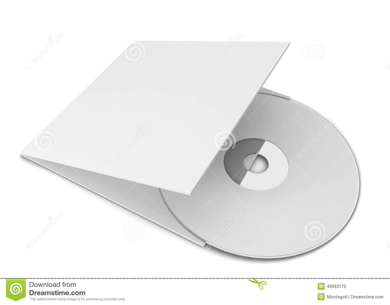 Cd cover clipart.