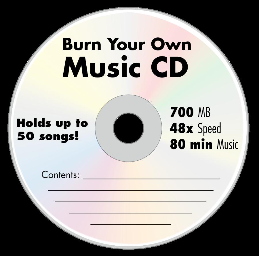 Vector clip art cd.