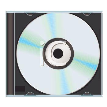 Blank CD in a Plastic Case.