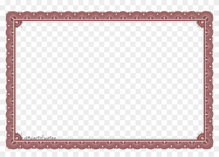 Blank Certificate Template Png Clipart Template Clip.