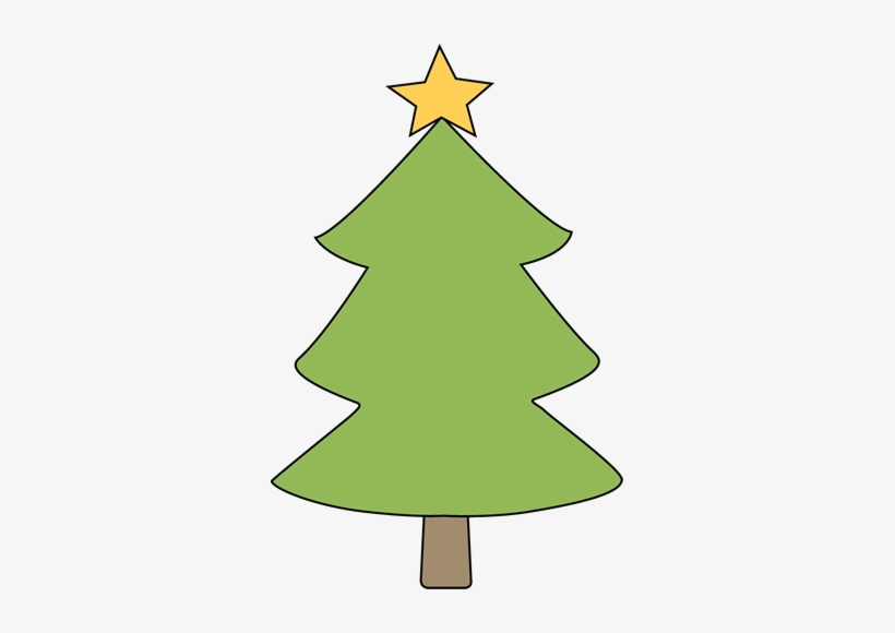 Blank Christmas Tree Clip Art.