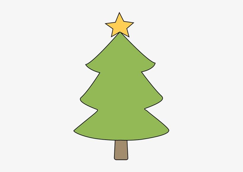 Blank Christmas Tree Clip Art.