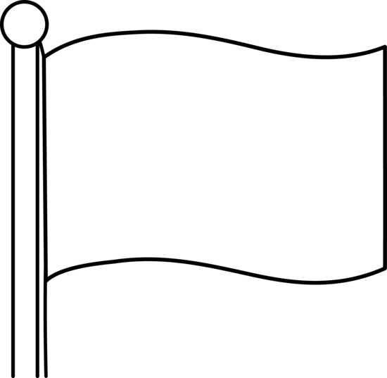 Simple Blank Flag Design.