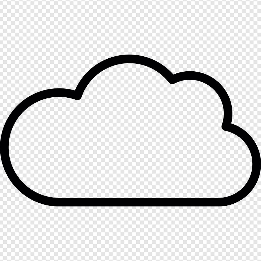 Blank Cloud ico.