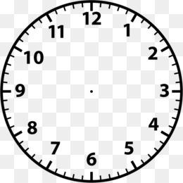Clock Face PNG.