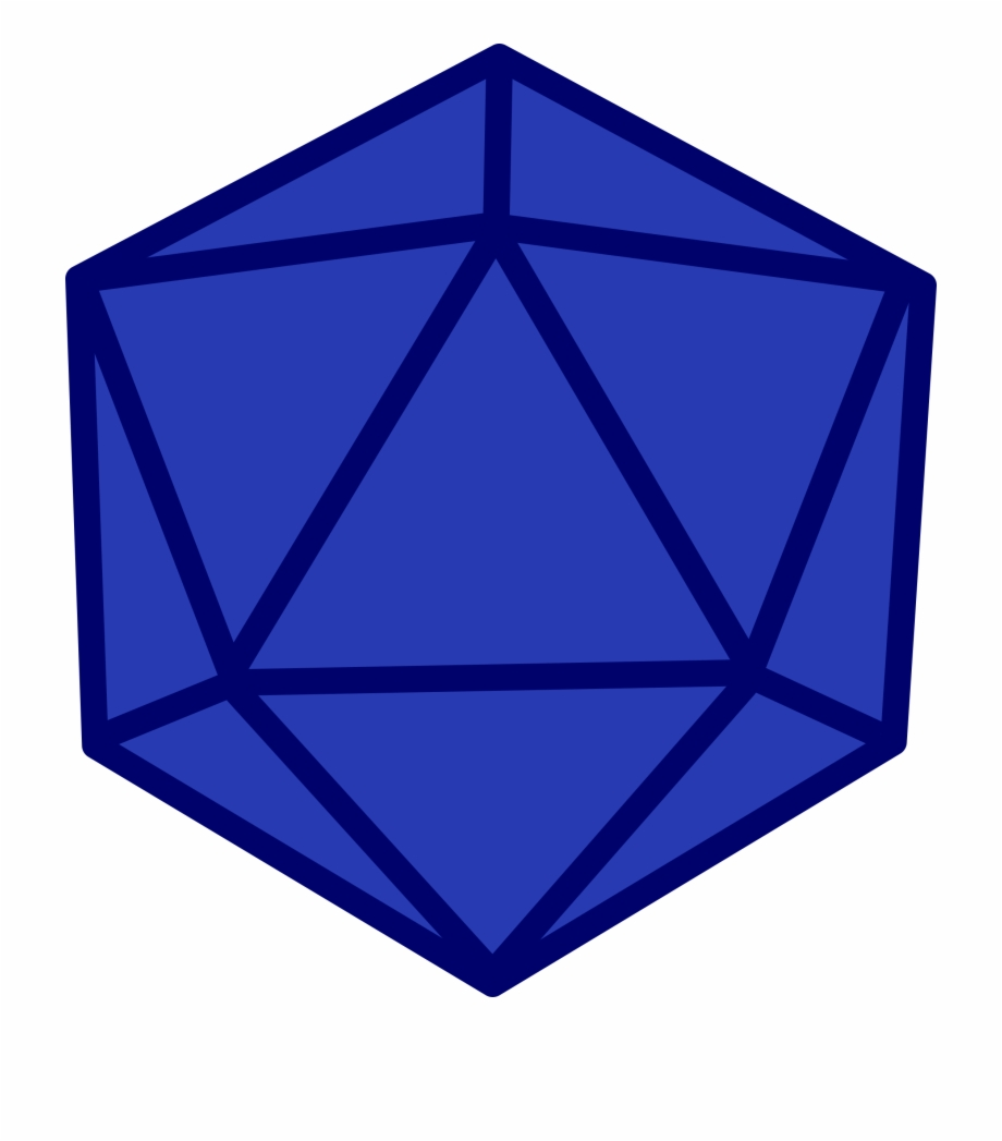 This Free Icons Png Design Of D20 Blank.
