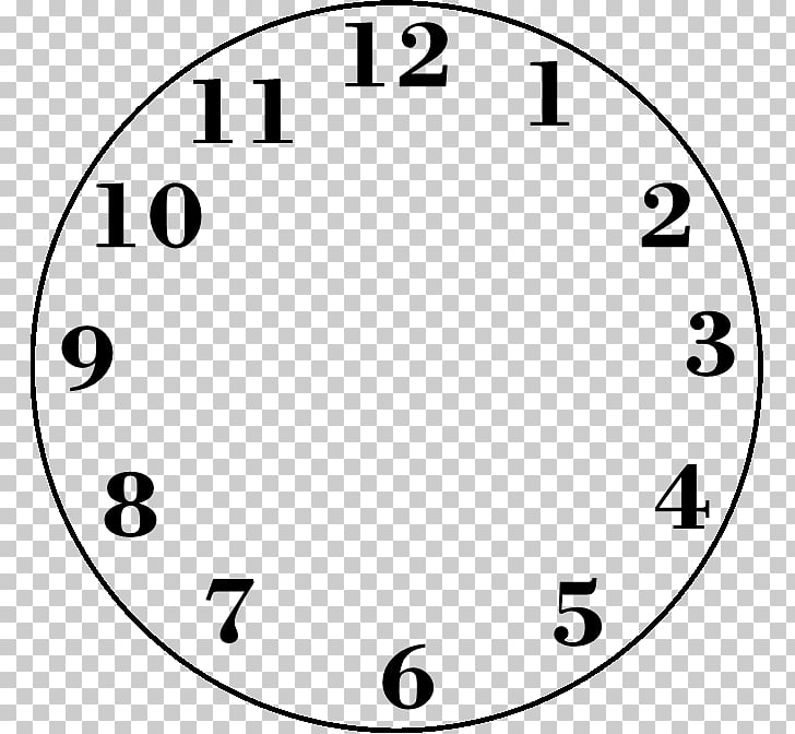 Clock face Digital clock , Blank Clock s PNG clipart.