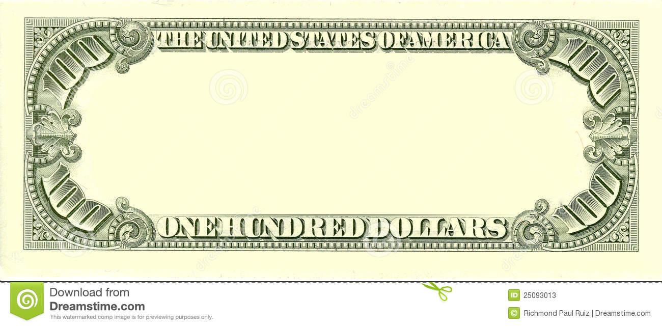 Blank Dollar Bill Clipart.