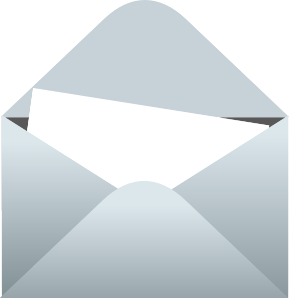 Blank Letter and envelope.
