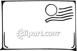A Stamped Blank Envelope.