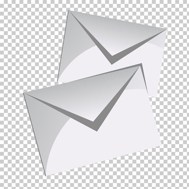 Envelope Packaging and labeling, Blank envelope PNG clipart.