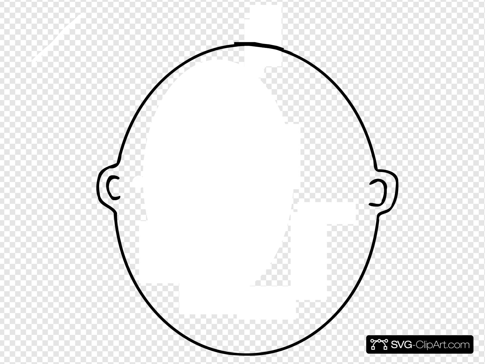 Blank Face Clip art, Icon and SVG.