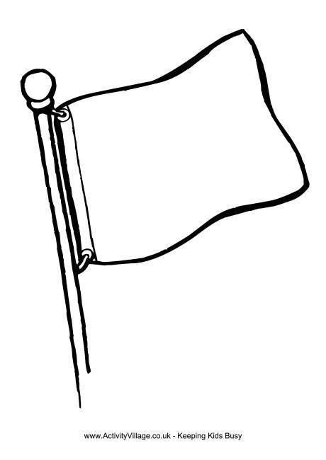 Blank flag clipart 3 » Clipart Portal.