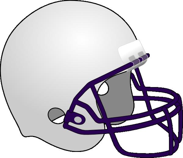 Blank Football Helmets.