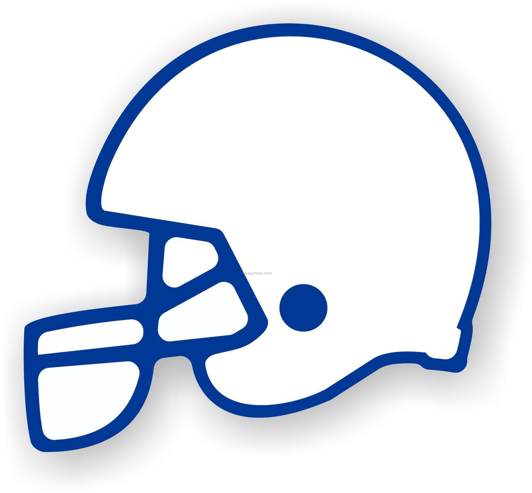 Blank football helmet clipart kid.