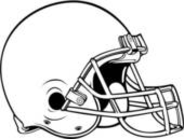 Blank Football Helmet Clipart#2227280.