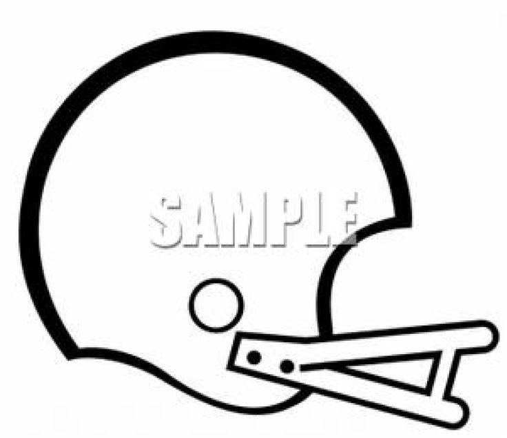 College Football Helmet Clip Art.