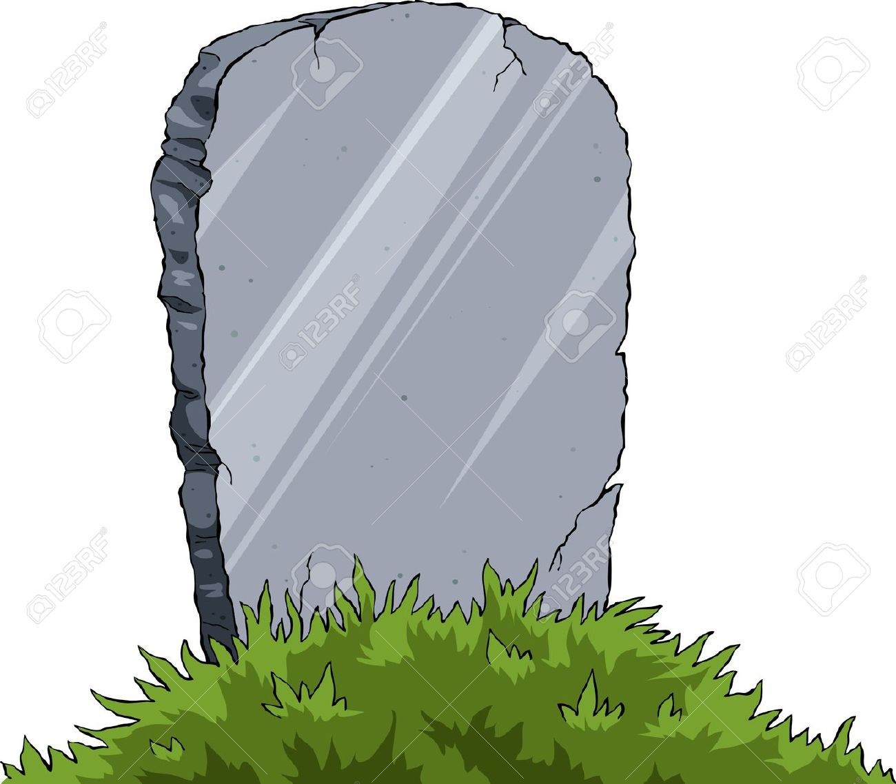 Blank Grave Clipart.