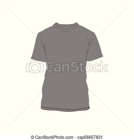 Grey Blank T.