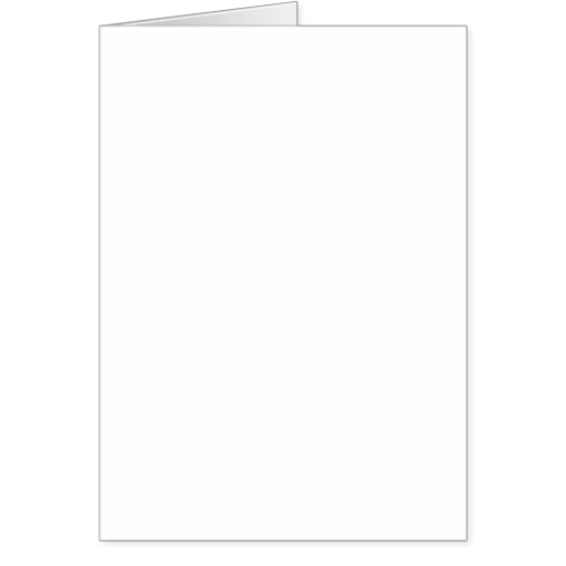 Blank Greeting Card Clipart.