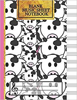 Amazon.com: Blank Music Sheet Notebook: Music Manuscript.