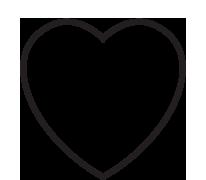Blank Heart Clipart.