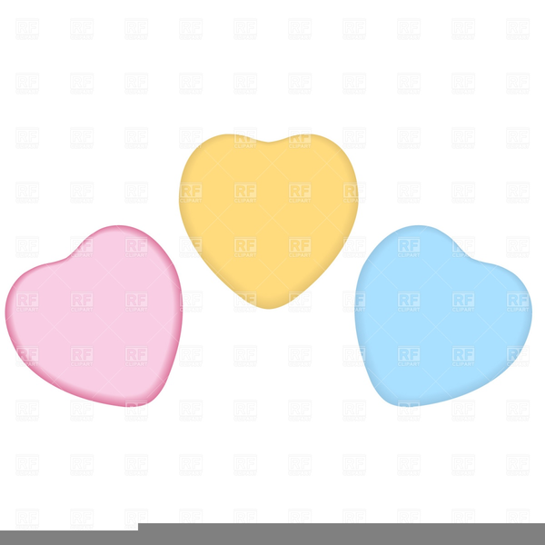 Blank Candy Heart Clipart.