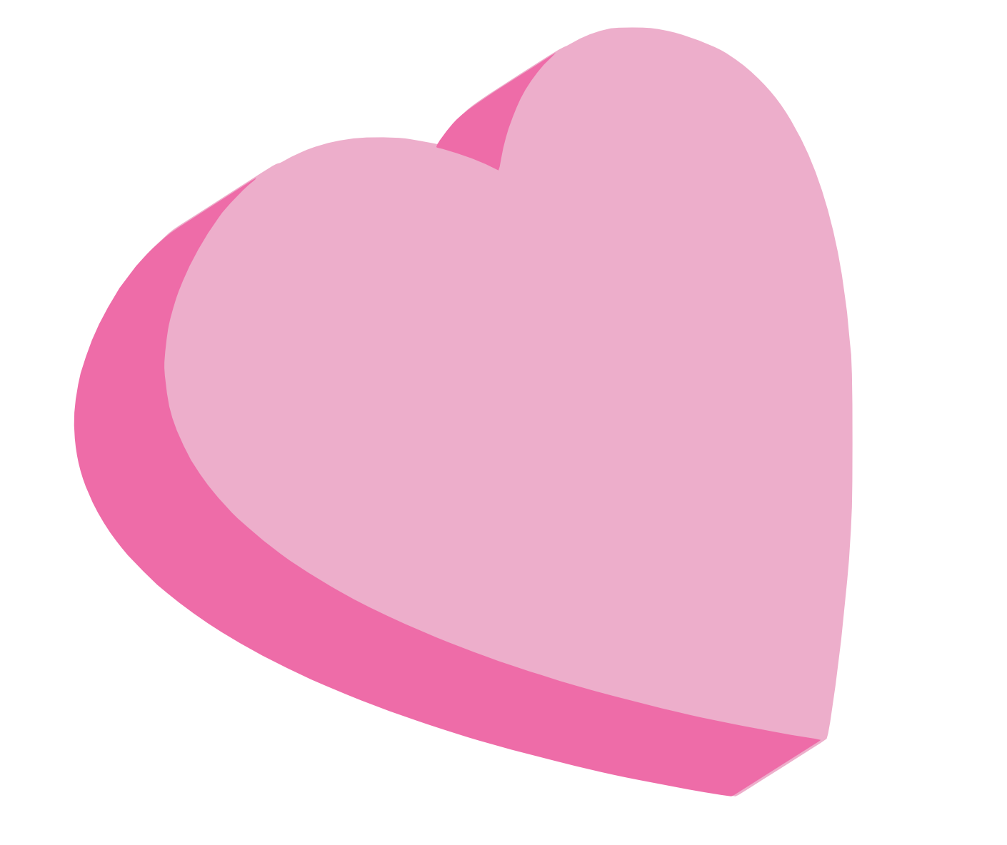 Valentines day candy heart clipart.
