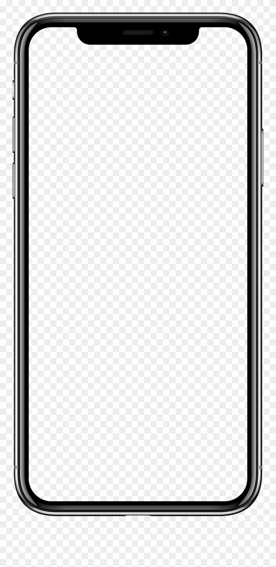 Blank Iphone Png.