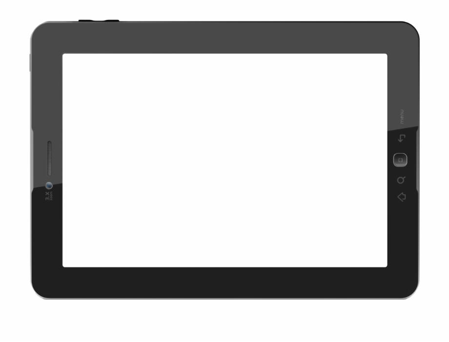 Tablet Blank Transparent Png.