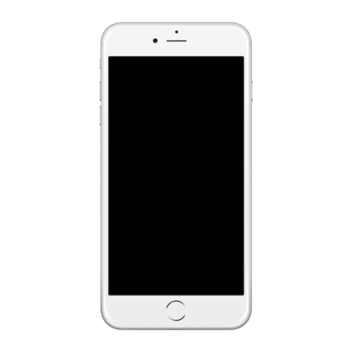 Blank Iphone Screen Png Vector, Clipart, PSD.