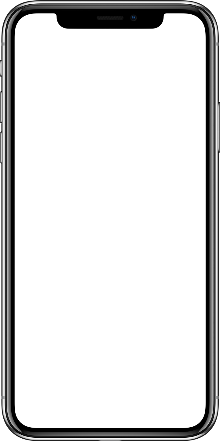 Apple iPhone X landing page blank png #45233.