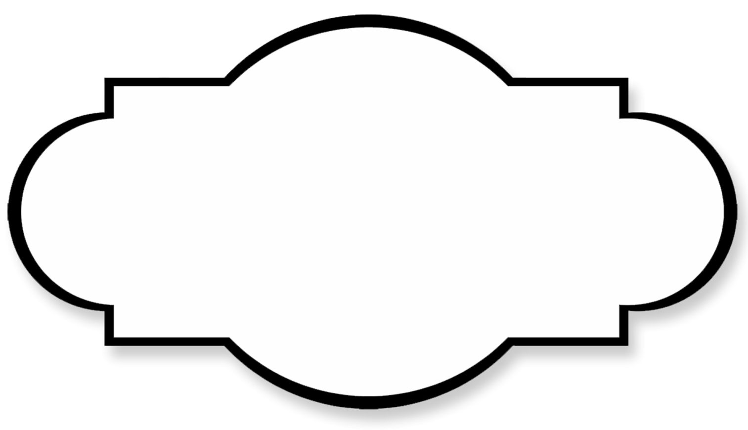 blank label clipart clipground