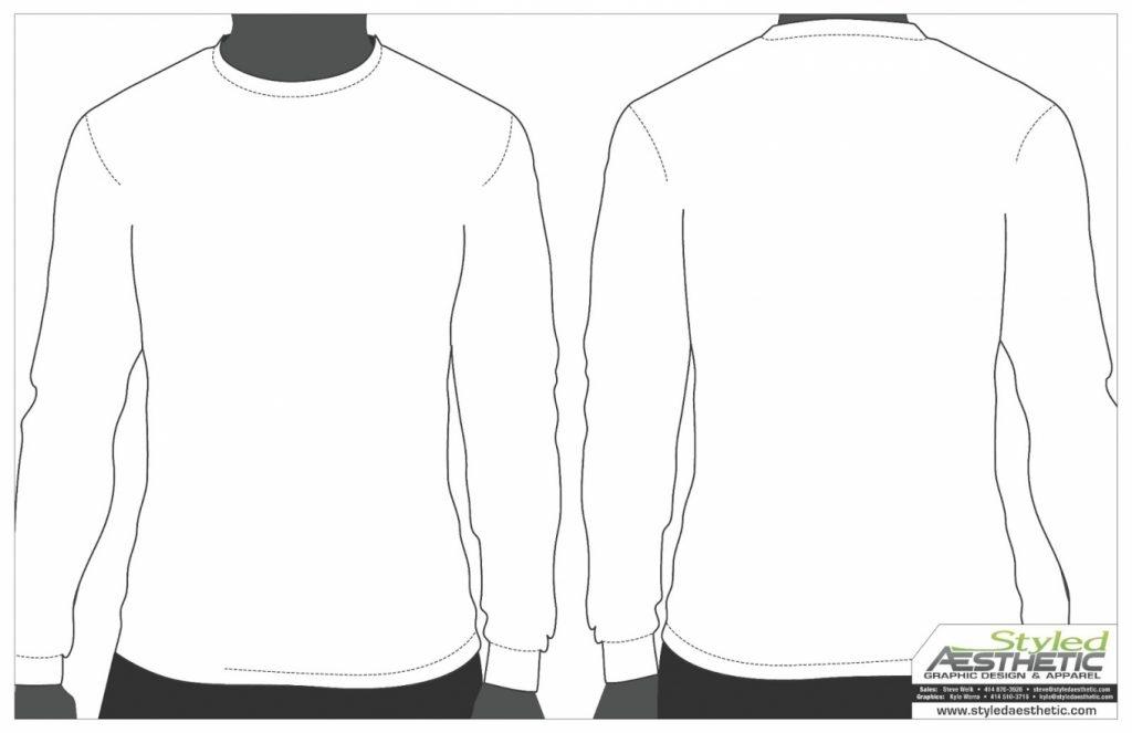 Long Sleeve T Shirt Vector at GetDrawings.com.