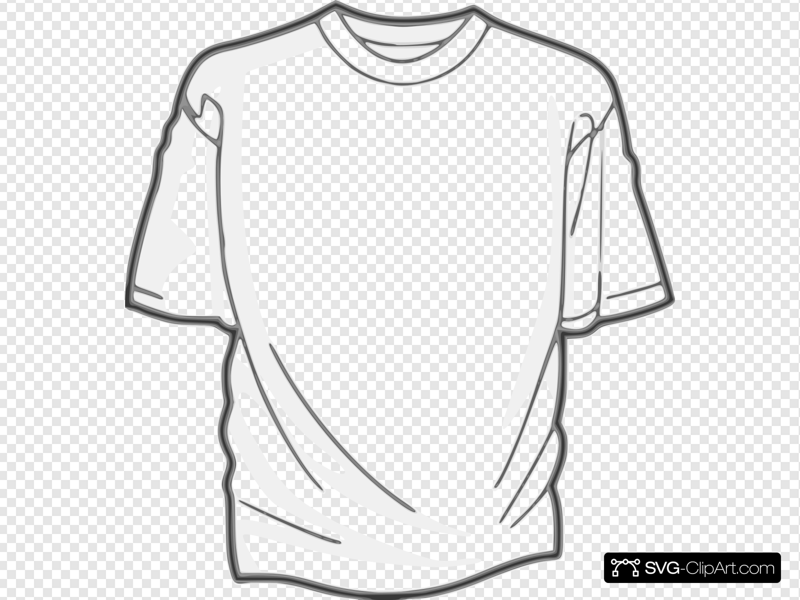 Digitalink Blank T Shirt Clip art, Icon and SVG.